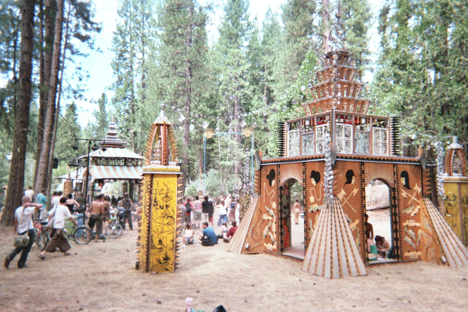 Forest Stage Temple