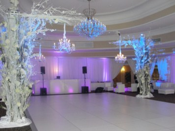 wedding dance floor rental
