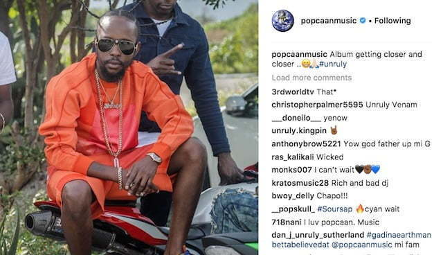 Popcaan Confirms His New Album Almost Ready – WellBadEnt
