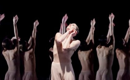 Paris Opera Ballet's Marie-Agnès Gillot in Pina Bausch's Orpheus and Eurydice Photo: Agathe Poupeney