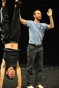 Hillel Kogan and Adi Boutrous in Kogan's We Love Arabs | Photo: Gadi Dagon