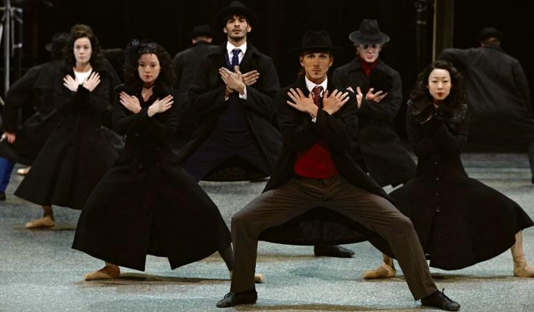 Les Grands Ballets Canadiens de Montréal in Annabelle Lopez Ochoa's Vendetta, Storie di Mafia Photo: Sasha Onyschenko