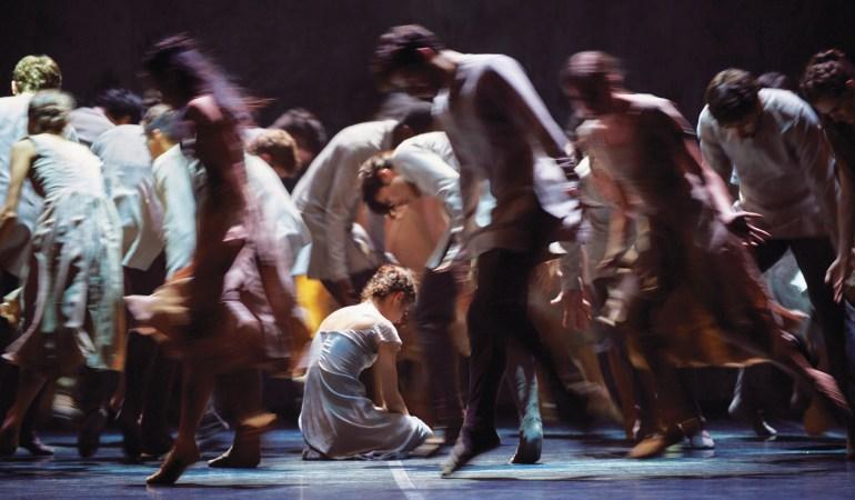English National Ballet's Alina Cojocaru and artists in Akram Khan's Giselle | Photo: Laurent Liotardo