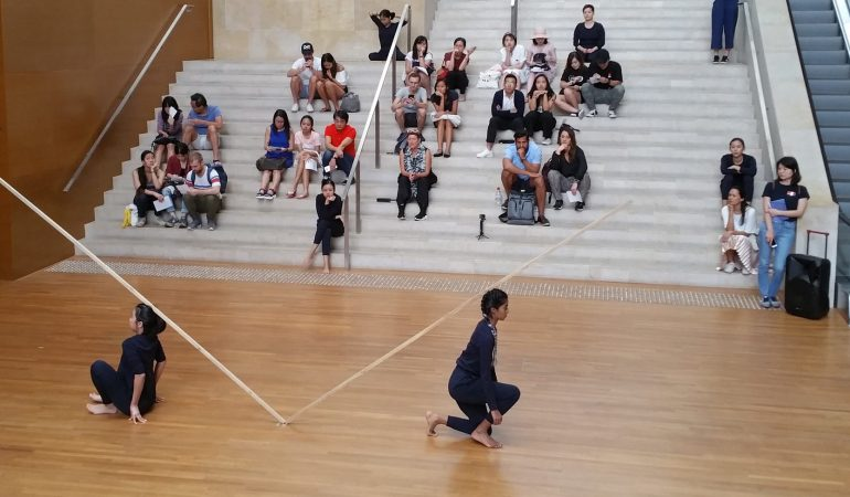 Trisha Brown's Sticks at the National Gallery Singapore Photo: Malcolm Tay