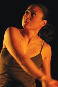 Li Chiao-Ping in her piece Watching Watching Photo: John Maniaci