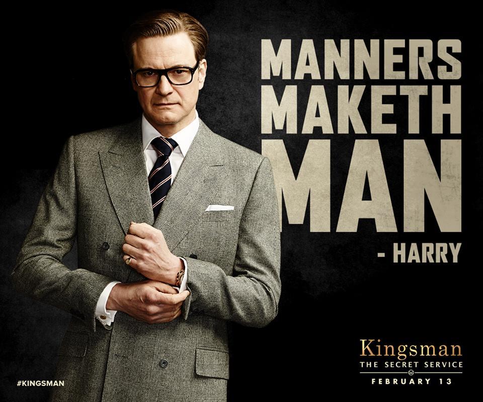 Manners Maketh Man – 皇家特工: 間諜密令/金牌特務 Kingsman: The Secret Service – Dance in the Rain to Survive
