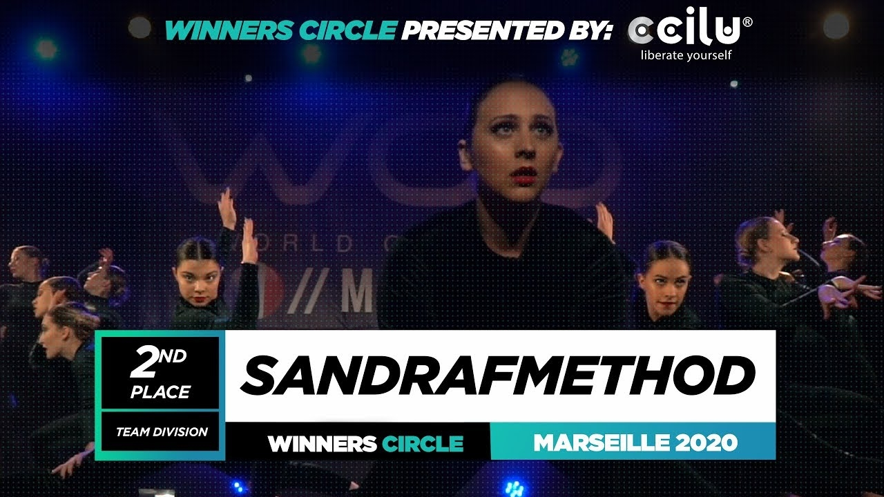SANDRAFMETHOD | 2nd Place Team | Winner Circle | World of Dance Marseille 2020 | #WODFR2020