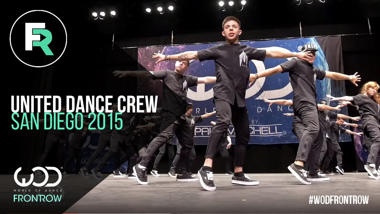 United Dance Crew | 2nd Place Upper Division | FRONTROW | World of Dance San Diego 2015 | #WODSD15