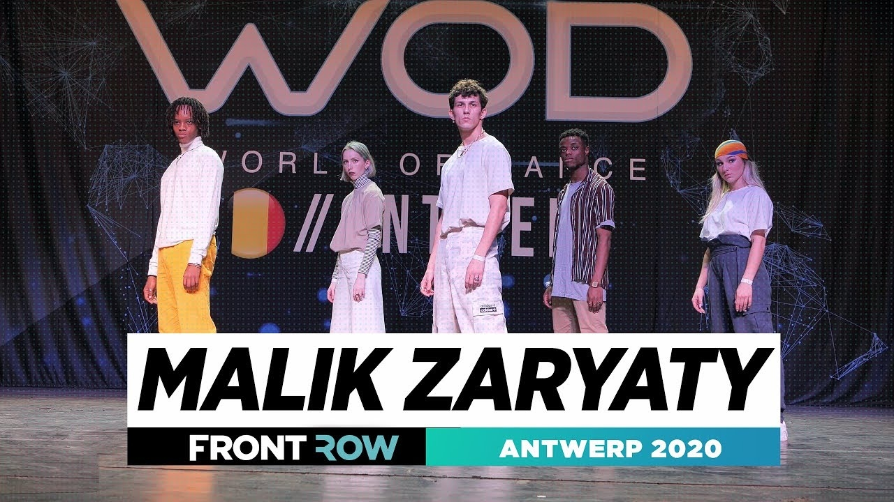 Malik Zaryaty | Frontrow | World of Dance Antwerp 2020 | #WODANT2020