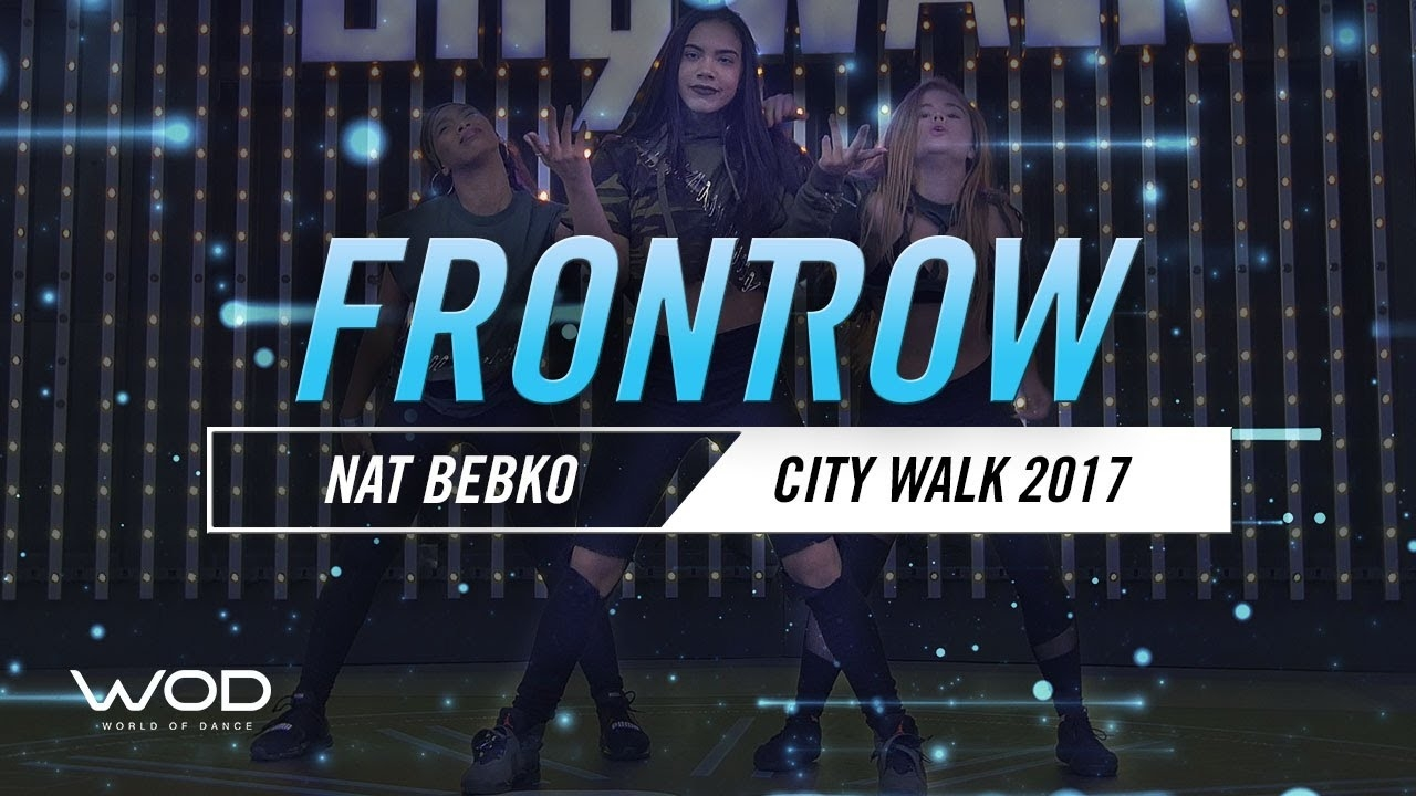 Nat Bebko | FrontRow | World of Dance Live 2017 | #WODLive17