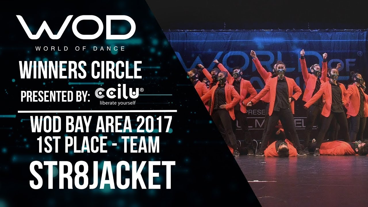 Str8jacket | 1st Place Team Division | Winners Circle | World of Dance Bay Area 2017 | #WODBAY17