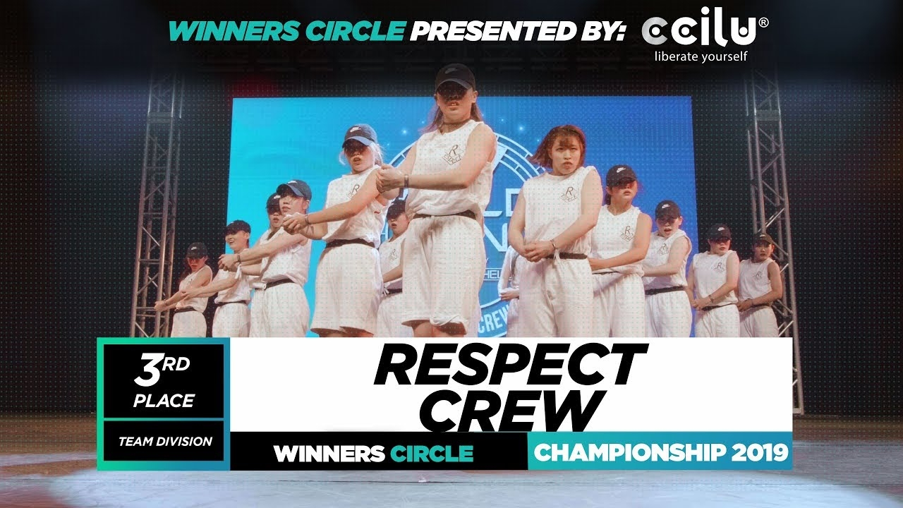 Respect Crew | 3rd Place Team | Winners Circle | World of Dance Championship 2019 | #WODCHAMPS19