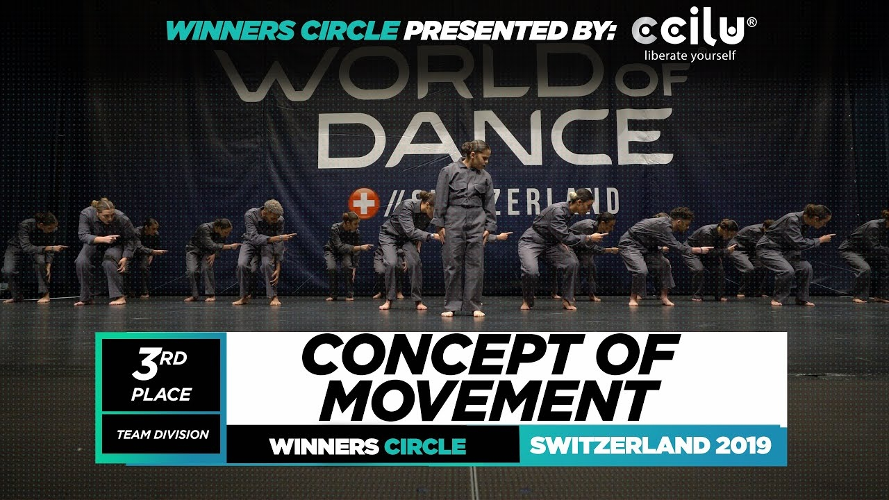 Concept of Movement | 3rd Place Upper Team|Winner Circle|World of Dance Switzerland 2019 | #WODSWZ19
