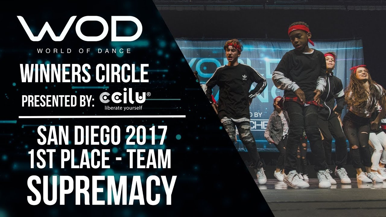 Supremacy | 1st Place Team Division | Winner's Circle | World of Dance San Diego | #WODSD17