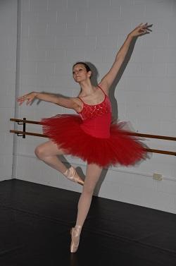 Dancer and author Alexandra Cownie