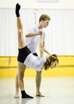 NZ School of Dance students