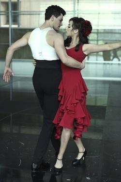 Thomas Lacey and Phoebe Panaretos