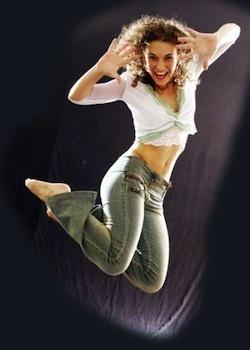 Tap dancer Kricket Forster