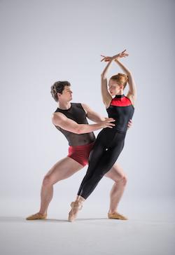 NZSD Graduation Season-Samantha Vottari and Tynan Wood. Photo by: Stephen A'Court.