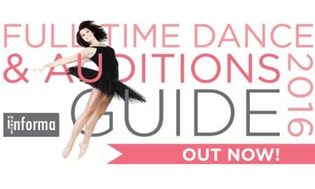 Full time Dance Auditions Guide Australia
