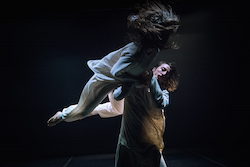 Amber Haines and Kyle Page. Photo by Gregory Lorenzutti.