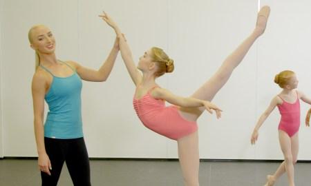 Ballerina Claudia Dean