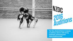 New Zealand Dance Company Auditions.
