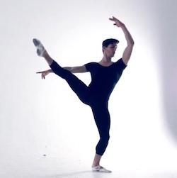 Ned Zaina, dance captain for Opera Australia. Photo courtesy of Zaina.