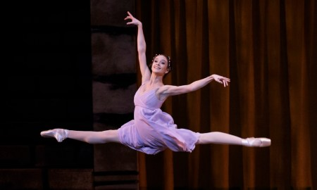 NYCB Principal Lauren Lovette as Juliet in 'Romeo + Juliet'. Choreography by Peter Martins. Photo by Paul Kolnik.