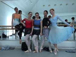 Lina Dancewear on tour in London. Photo courtesy of Lina Dancewear.
