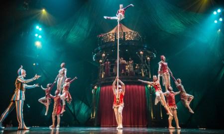 Cirque du Soleil's 'KOOZA', with costumes by Marie-Chantale Vaillancourt. Photo by Matt Beard.