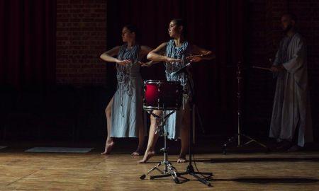 'Noise Quartet Meditation', choreographed by Lilian Steiner. Photo by Lauren Dunn