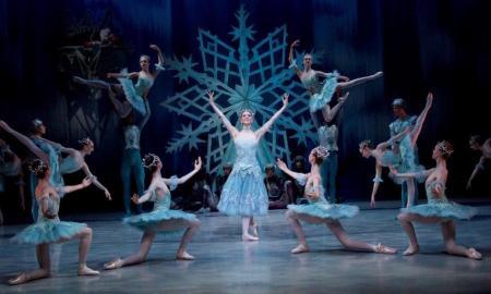 The Australian Ballet School in 'The Snow Queen'. Photo by Sergey Konstantinov.