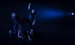 Georgia Sekulla, Maddie Tratt, Rowan Rossi and Alex Warren in Limitless Dance Company's 'SE7EN'. Photo by Peter Sharp.