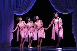 The Shirelles in the Broadway cast of 'Beautiful The Carole King Musical'. Photo by Joan Marcus.