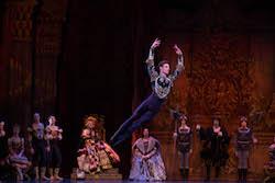 Joel Woellner in Queensland Ballet's 'Swan Lake'. Photo by David Kelly.