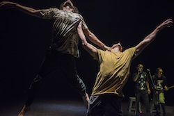 Dancenorth in 'Attractor'. Photo by Gregory Lorenzutti.