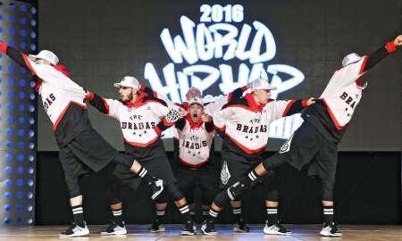The Bradas Dance Crew at the 2016 World Hip Hop Dance Championship. Photo courtesy of Hip Hop International.