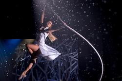 Tayla Lemon in 'Elements'. Photo courtesy of Norwegian Creative Studios.