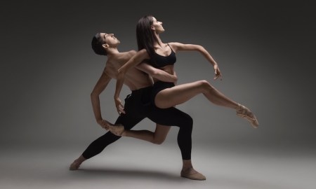Masha Peker with Alexander Bryce. Photo by Taylor Morris.