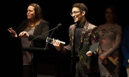 Jack Chambers at the Australian Dance Awards. Photo by Samara Clifford.