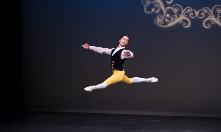 AGP 2017 New Zealand School of Dance Full Year Scholarship, Rench Isaac Soriano, Dance Pull School of Performing Arts, The Philippines.