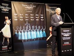 La Scala Ballet Director Maestro Frédéric Olivieri. Photo by Elizabeth Ashley.