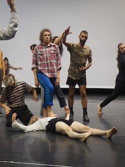 Australian Dance Theatre in the Making North workshop. Photo by Elizabeth Ashley.
