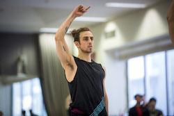 The Australian Ballet's Marcus Morelli. Photo by Kate Longley.