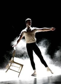 Joshua Horner as Older Billy in 'Billy Elliot' in Australia. Photo courtesy of Horner.