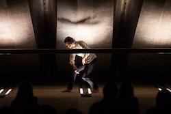 Rosalind Crisp's 'DIRtywork'. Photo by Daniel Boud.