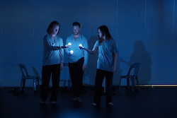 Callum Mooney's 'Cosmos' at DirtyFeet Out of the Studio. Photo by Yvonne Chen for Rolling Media Productions.