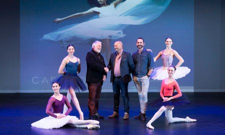 Capezio partners with the National Theatre Ballet School.
