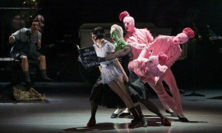 RNZB in 'Hansel and Gretel'. Photo by Stephen A'Court.